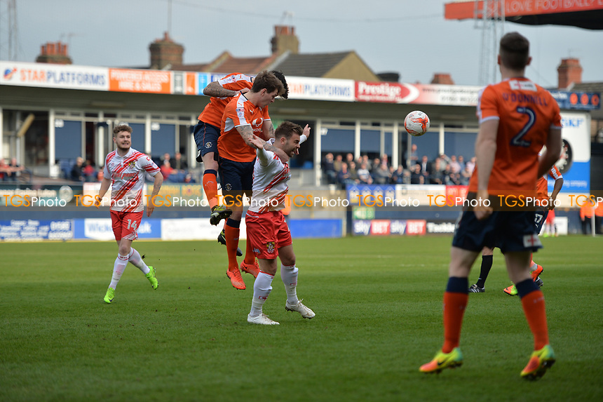 matt godden during Luton Town vs Stevenage, Sky Bet EFL League 2 Football at Kenilworth Road on 11th March 2017