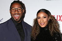 LOS ANGELES - JAN 22:  Matthew A Cherry and fiance at the 2020 African American Film Critics Association Awards at the Taglyan Complex on January 22, 2020 in Los Angeles, CA