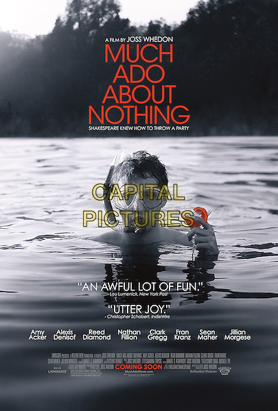 POSTER ART<br /> in Much Ado About Nothing (2012) <br /> *Filmstill - Editorial Use Only*<br /> CAP/FB<br /> Image supplied by Capital Pictures
