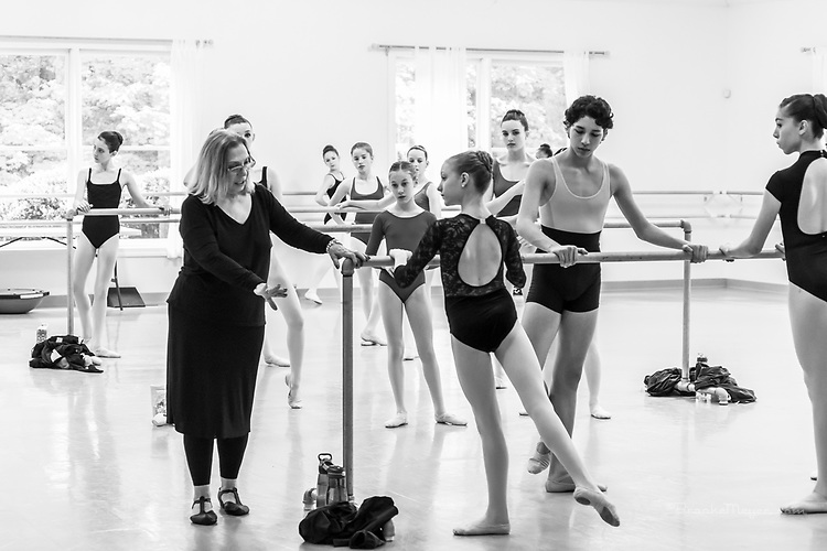 Master Class with Olga Kostritzky, Cary Ballet Conservatory, 13 May 2017