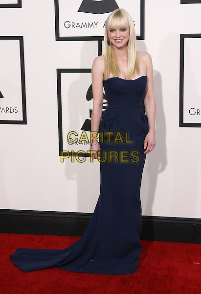 LOS ANGELES, CA - JANUARY 26 - Anna Faris. 56th GRAMMY Awards held at the Staples Center. <br /> CAP/ADM<br /> &copy;AdMedia/Capital Pictures