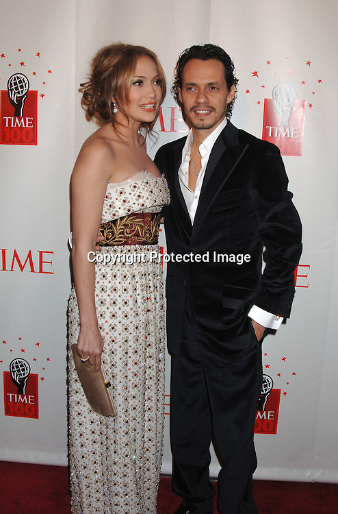 Jennifer Lopez and husband Marc Anthony ..at Time Magazine's 100 Most Influential People ..Dinner on May 8, 2006 at Jazz at Lincoln at The Time Warner Center. ..Robin Platzer, Twin Images