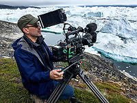 An Inconvenient Sequel: Truth to Power (2017)<br /> Director and Cinematographer Jon Shenk on the set<br /> *Filmstill - Editorial Use Only*<br /> CAP/FB<br /> Image supplied by Capital Pictures