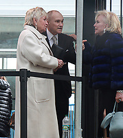 NEW YORK, NY March 08, 2018: Ray Kelly, Veronica Kelly attendInternational Women's Day at United Nations in New York. March 07, 2018 <br /> CAP/MPI/RW<br /> &copy;RW/MPI/Capital Pictures