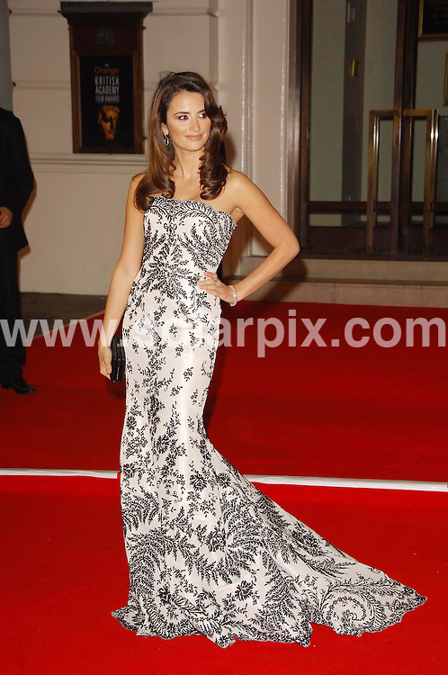 **ALL ROUND PICTURES FROM SOLARPIX.COM**.**WORLDWIDE SYNDICATION RIGHTS**. The British Academy Film Awards(BAFTA) at the Royal Opera House in London last night..This Pic:Penolope Cruz..JOB REF:3344 MSR    DATE: 11.2.07.**MUST CREDIT SOLARPIX.COM OR DOUBLE FEE WILL BE CHARGED**