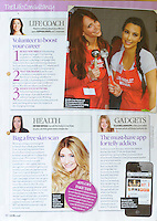 Look Magazine<br /> Jennifer Lover Hewitt &amp; Kim Kardashian by ADm<br /> 40935<br /> tearsheet