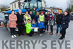 Organising Committee of the James Ashe Memorial Tractor run in Boolteens on Sunday.<br /> Kneeling l-r, Elizabeth Ryle O'Connor, Andrea O'Donoghue and Mary Shanahan (Kerry Hospice).<br /> Back l-r, Elaine and Donal Griffin, Margaret and Francie Ash, Dylan O'Connor, Greg, Conor, Shane, Charlie and Tanya Ash, Johnny Daly and Siobhan O'Donoghue.