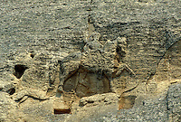 Bulgarien, Felsrelief: Der Reiter von Madara, Unesco-Weltkulturerbe