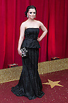 © Licensed to London News Pictures . 16/05/2015 .  The Palace Hotel , Manchester , UK . Shoana McGarty . The red carpet at the 2015 British Soap Awards , The Palace Hotel , Oxford Road , Manchester . Photo credit : Joel Goodman/LNP