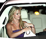 """8-5-08.Britney Spears ate dinner at a restaurant called """"The Little Door"""" on 3rd st in Los Angeles .Britney was inside for about 2 hours with a mystery guy and girl and of course her body guard. After dinner they drove to blockbuster video and the mystery guy went inside to get a movie...AbilityFilms@yahoo.com.805-427-3519.www.AbilityFilms.com."""