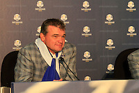 Paul Lawrie at the final press conference of the 39th Ryder Cup at Medinah Country Club, Chicago, Illinois  (Photo Colum Watts/www.golffile.ie)