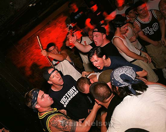 All Out War at DV8 Basement.<br />