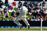 BJ Watling of the Black Caps gets hit by a bouncer from Mark Wood of England  during Day 2 of the Second International Cricket Test match, New Zealand V England, Hagley Oval, Christchurch, New Zealand, 31th March 2018.Copyright photo: John Davidson / www.photosport.nz