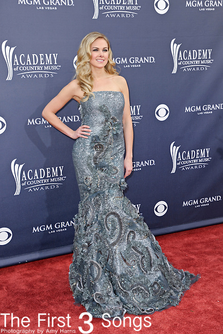 Laura Bell Bundy attends the 46th Annual Academy of Country Music Awards in Las Vegas, Nevada on April 3, 2011.