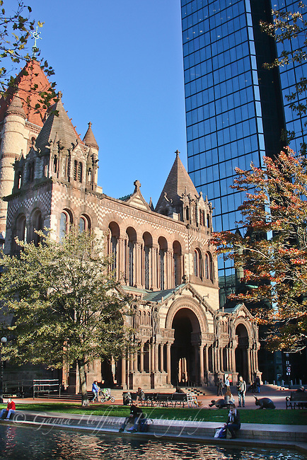 Trinity Church, The Hancock Tower, Boston, MA