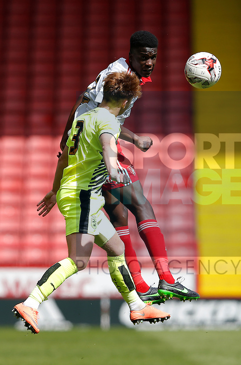 Joseph Cummings of Sheffield Utd during the PDL U21 Final at Bramall Lane Sheffield. Photo credit should read: Simon Bellis/Sportimage
