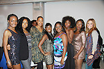"""One Life To Live's Shennell Edmonds, Kearran Giovanni and Shenaz Treasury join with Delaina Dixon. Editor-In Chief """"TV DivaGal of DivaGalsDaily.com and Nichole, Bria, Sakeena Nicole, Maureen and Samantha at Let's Celebrate - The Diva Gals Style Lounge on October 5, 2011 at Select Strands, New York City, New York. DivaGalsDaily.com is the premier website inspiring DivaGals around the globe to celebrate evry living moment in a savvy, sophisticated and social way.  (Photo by Sue Coflin/Max Photos)"""