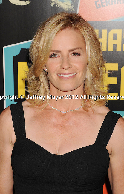 LOS ANGELES, CA - OCTOBER 18: Elisabeth Shue arrives at the 'Chasing Mavericks' - Los Angeles Premiere at Pacific Theaters at the Grove on October 18, 2012 in Los Angeles, California.