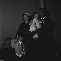 Family Photo during a dedication at United Church of Hot Springs, South Dakota.  April 15, 1956