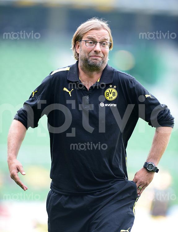 FUSSBALL   DFB POKAL   SAISON 2012/2013   1. Hauptrunde FC Oberneuland - Borussia Dortmund            18.08.2012 Trainer Juergen Klopp (Borussia Dortmund)