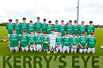 The Ballyduff U14 Feile hurling team that played St Brendan's in the U14 Feile A Hurling Final in Abbeydorney on Monday.