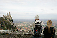 Veduta da San Marino.<br /> View from San Marino.<br /> UPDATE IMAGES PRESS/Riccardo De Luca