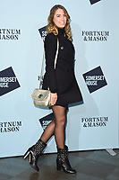 Amber Le Bon<br /> arriving for the Skate at Somerset House 2017 opening, London<br /> <br /> <br /> ©Ash Knotek  D3351  14/11/2017