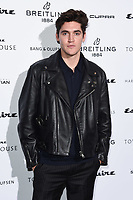 LONDON, UK. October 16, 2019: Isaac Carew arriving for the Esquire Townhouse 2019 launch party, London.<br /> Picture: Steve Vas/Featureflash