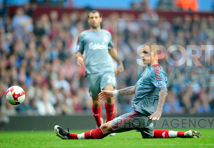 Martin Skrtel of Liverpool