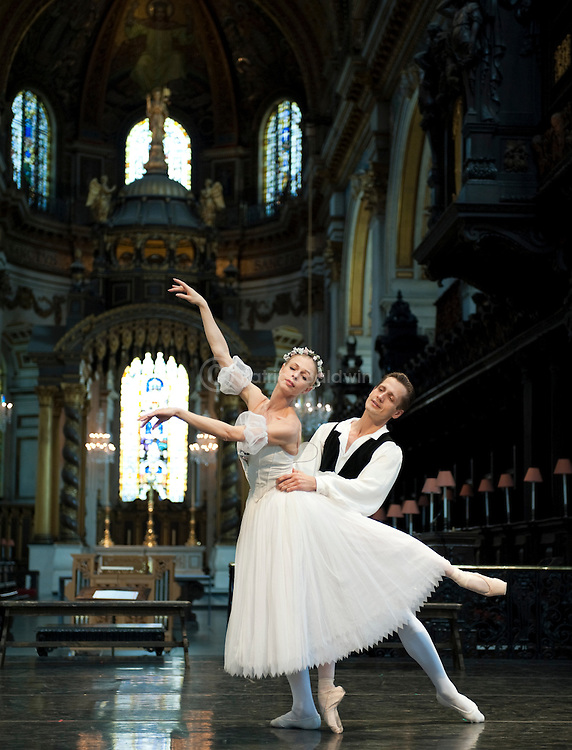 English National Ballet. St. Paul's Cathedral.