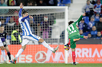 CD Leganes' Mikel Vesga and Deportivo Alaves' Ibai Gomez (R)  during La Liga match. November 23,2018. (ALTERPHOTOS/Alconada) /NortePhoto.com