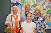 The Harker School - LS - Lower School - Grandparents' Day at the Bucknall Campus where LS students show their grandparents their campus, classes, meet teachers and staff, as well as entertained by face painting, animal exhibits from Happy Hollow and My Pony and a special performance from the LS Choir and Dance Groups...2012-05-11...Photo by Maria Gong, parent