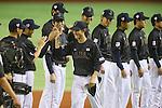 Seiji Kobayashi (JPN), <br /> NOVEMBER 14, 2014 - Baseball : <br /> 2014 All Star Series Game 2 <br /> between Japan and MLB All Stars <br /> at Tokyo Dome in Tokyo, Japan. <br /> (Photo by YUTAKA/AFLO SPORT)[1040]