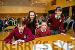 Social Iosagain, Ballybunion, Andrew O'Connor, Evan Mulcare, Johanna Kiely and Gabrielle Kiely at the Credit Union Chapter 23 Primary school's Quiz in the Ballyroe Heights Hotel on Sunday