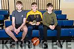 18Glenbeigh Basketball Medal Presentation Under 17 boys<br /> Dara Casey, Kieran Johnston, Sean Burke