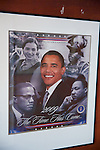 Obama, Rosa Parks, Marcus Garvey, Malcom X, MLK, Kura Hulunda Museum