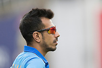 Yuzvendra Chahal (India) during India vs Australia, ICC World Cup Cricket at The Oval on 9th June 2019
