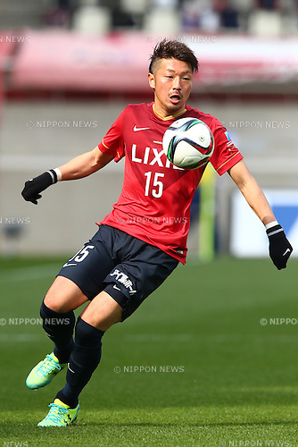 Hiroyuki Takasaki (Antlers),<br /> MARCH 14, 2015 - Football / Soccer : <br /> 2015 J1 League 1st stage match between<br /> Kashima Antlers 1-2 Shonan Bellmare<br /> at Kashima Soccer Stadium in Ibaraki, Japan.<br /> (Photo by Shingo Ito/AFLO SPORT)