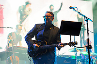LONDON, ENGLAND - NOVEMBER 6: Chris Difford of 'Squeeze' performing at the Royal Albert Hall on November 6, 2017 in London, England.<br /> CAP/MAR<br /> &copy;MAR/Capital Pictures