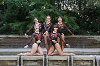 STANFORD, CA-October 16, 2014- Stanford Womens Gymnastics Team