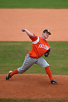 Bowling Green Falcons Trevor Blaylock (29) during a game against the Illinois State Redbirds on March 11, 2015 at Chain of Lakes Stadium in Winter Haven, Florida.  Illinois State defeated Bowling Green 8-7.  (Mike Janes/Four Seam Images)