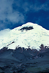 Cotopaxi Mountain, Ecuador, second highest summit in the country, height of 5,897m, snow top, equatorial glacier, volcanoes around the Pacific plate known as the Pacific Ring of Fire