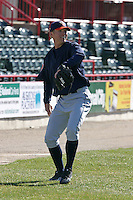 April 11, 2005:  Pitcher Matt Lindstrom of the Binghamton Mets during a game at Jerry Uht Park in Erie, PA.  Binghamton is the Eastern League Double-A affiliate of the New York Mets.  Photo by:  Mike Janes/Four Seam Images