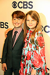 Montana Jordan & Iaian Armitage & Raegan Revord - Young Sheldo - CBS Upfront 2018 on May 16, 2018 at the Plaza Hotel, New York City, New York with new Prime Time 2018-19 shows (Photo by Sue Coflin/Max Photo)