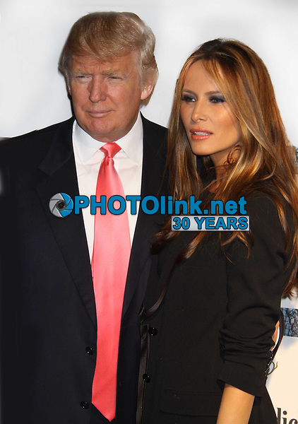 New York City<br /> CelebrityArchaeology.com<br /> 2010 FILE PHOTO<br /> DONALD TRUMP MELANIA TRUMP<br /> Photo by John Barrett-PHOTOlink.net<br /> -----<br /> CelebrityArchaeology.com, a division of PHOTOlink,<br /> preserving the art and cultural heritage of celebrity <br /> photography from decades past for the historical<br /> benefit of future generations.<br /> ——<br /> Follow us:<br /> www.linkedin.com/in/adamscull<br /> Instagram: CelebrityArchaeology<br /> Twitter: celebarcheology