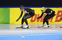 SCHAATSEN: HEERENVEEN; 07-07-2017, IJsstadion Thialf, Zomerijs, Koen Verweij traint met de Russische schaatsselectie, ©Martin de Jong