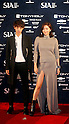 Jung Joon-Young and  Jang Yoon-Ju, Oct 28, 2014 : South Korean singer Jung Joon-young (L) and model Jang Yoon-ju pose before the 2014 Style Icon Awards (SIA) in Seoul, South Korea. The SIA is a style and culture festival. (Photo by Lee Jae-Won/AFLO) (SOUTH KOREA)