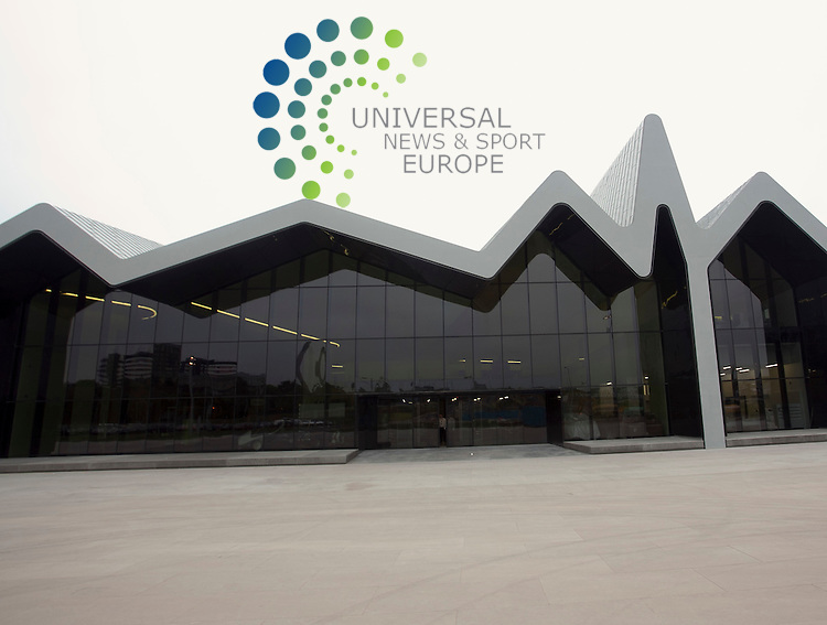 The Riverside Museum: Scotland's Museums of Transport and Travel opens to the public on 21 June  2011, designed by internationally-renowned architect, Zaha Hadid.The cost of the Riverside Museum is £74 million. The Heritage Lottery Fund has provided £21.6 million towards the cost of the Riverside Museum.  . Picture: Johnny Mclauchlan Universal News and Sport (Europe). 0106/2011