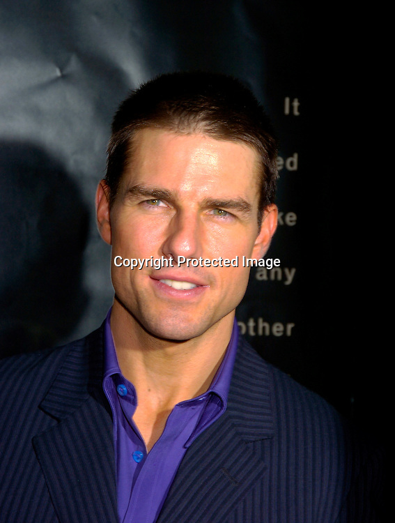 "Tom Cruise ..at the 8th Annual Urbanworld Film Festival ' s opening ..night of "" Collateral "" on August 4, 2004 at the  Magic Johnson Theatre in Harlem.                                                    Photo by Robin Platzer, Twin Images"
