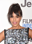 SANTA MONICA, CA - FEBRUARY 25: Actress Kerry Washington attends the 2017 Film Independent Spirit Awards at the Santa Monica Pier on February 25, 2017 in Santa Monica, California.